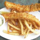 Fish and Chips in Canada.